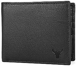 Napa Hide Men's RFID Protected Genuine Leather Wallet (Black)