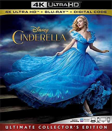 Cinderella 4K UHD [Blu-Ray] [Region Free] (IMPORT) (Keine deutsche Version)