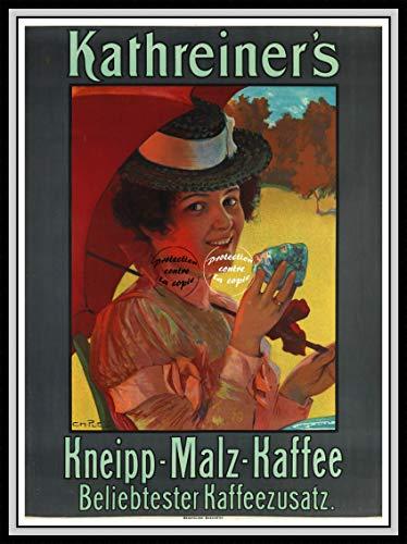 PostersAndCo TM Kathreiner's Kaffee Rkwp Poster / Kunstdruck, 40 x 60 cm * d1 Vintage-/Retro-Poster (No*)