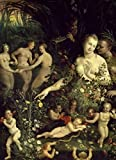 Venus at Her Toilette from School of Fontainebleau 16th