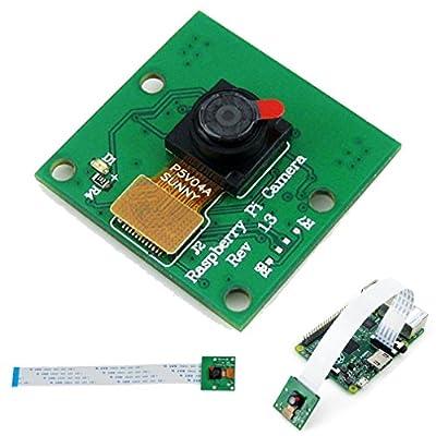 OV5647 5MP Camera OV5647 Camera Module Raspberry Pi Camera for Raspberry Pi A/B+/2 Model B with FPC Cable