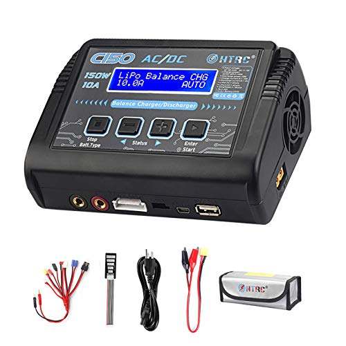 HTRC LiPo Charger RC Battery Balance Discharger 150W 10A 1-6S