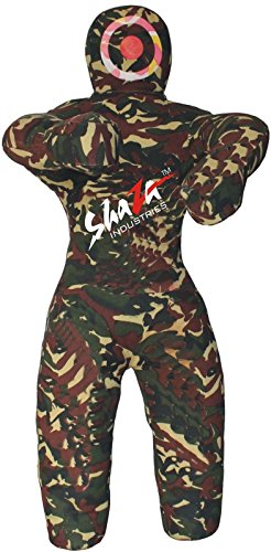 MMA Jiu Jitsu Martial Arts Training Grappling Dummy Wrestling Boxsack–ungefüllt, canvas camouflage