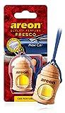AREON Fresco Ambientador Nuevo Coche Olor New Car Colgante Azul (Pack de 1)