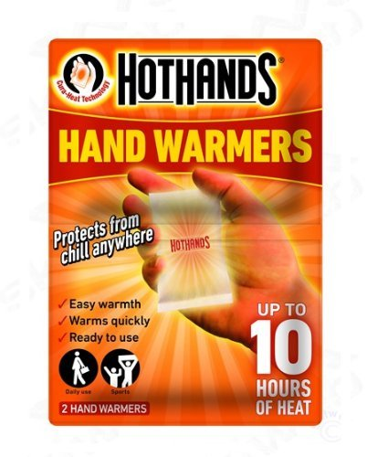 HotHands Chauffe-mains Protège du froid n'importe où
