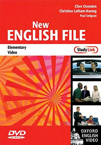 Oxenden, C: New English File: Elementary StudyLink Video: Six-level general English course for adults (New English File Second Edition)