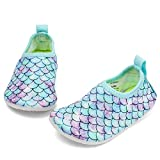 RANLY & SMILY Grils Water Shoes Beach Aqua Swim Pool Park Socks...
