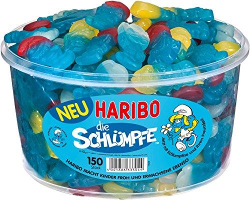 Haribo Schlümpfe, 3er Pack (3x 1.35kg Dose)