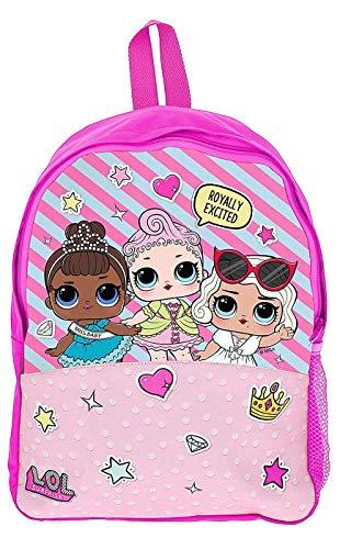 L.O.L. Surprise! Schultasche Mädchen Schule Rucksäcke Kinderrucksack Puppen LOL
