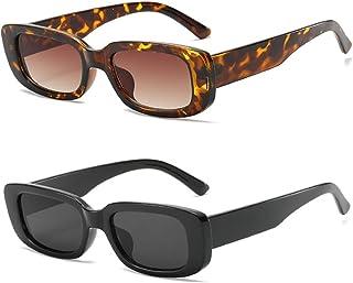 نظارات شمسية صفراء شفافة مستوحاة من السبعينيات للرجال والنساء عدسات ملونة العنبر