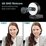 Immagine 2 campark 2k webcam ad anello