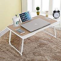 VLikeze ST-HXM Portable Foldable Laptop Desk with Handle and Cup Holder