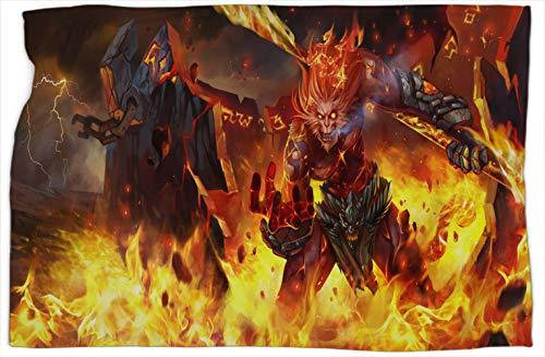Wukong Volcanic League Legends - Manta ligera con estampado de leyendas (súper suave, cálida y cómoda, 101,6 x 127 cm)