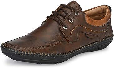Mactree Men Flexible-Stitched Sole Premium Formal Shoes for Men