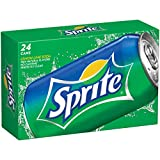 Pack of twenty-four 12 FL OZ per can Lemon-lime soda, 100% natural flavors Clean, crisp, fresh tasting and no caffeine Perfect size for drinking with meals, on the go, or any time What's in a Sprite. Its perfectly clear. Natural flavors and no caffei...