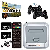 WOMiTRE Super Console X Pro Video Game Console Games with 2 Game-Pads, Game Consoles Built-in 41,000+ for 4K TV Support HD Output, LAN/WiFi, Gifts for Men - Pro 128G