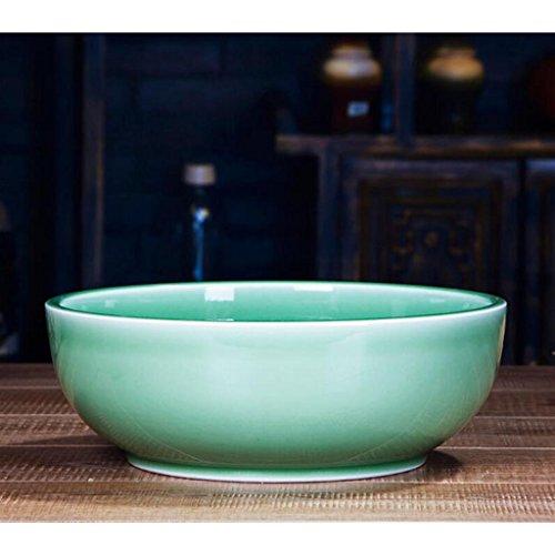 Servies Liuyu Keuken Thuis Gepekelde Viskom Dikker Handgemaakte Keramiek Grote Soep Bowl Gezicht Bowl Soep Basin Hotel