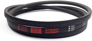 Jason Industrial A43 4L450 V-Belt, A/4L Section, Natural Rubber/SBR/Polyester, 45