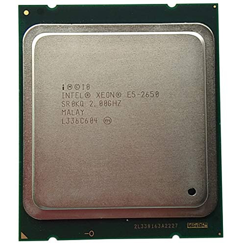 Nrpfell Procesador Xeon E5-2650 C2 SR0KQ Caché 20M / 2.0 / GHz / 8.00 GT/S 95W LGA 2011 E5 2650, Venda CPU E5 2670 2660