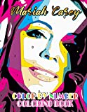 Mariah Carey Color By Number: Empress of Pop Rap and Talented Angelic Voice Inspired Color Number Book For Fans Adults Stress Relief Gift