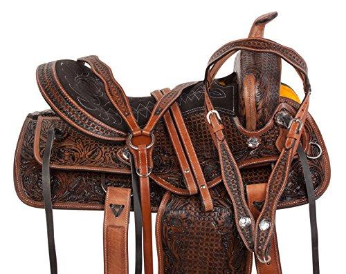 Acerugs Premium Western Barrel Racing Horse Trail Saddle TACK 14 15 16