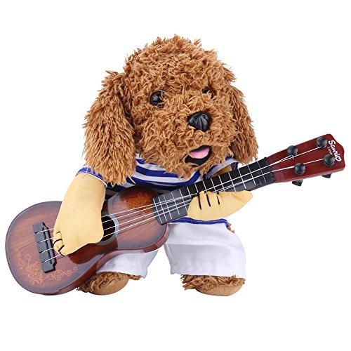 Ropa para Mascotas Creativo Especial Lindo Divertido Perro Guitarrista de Pie de...