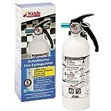 Kidde 2 lb BC Mariner 5 Extinguisher M5G w/Metal Valve & Plastic Strap Bracket (Disposable) - 1 Each