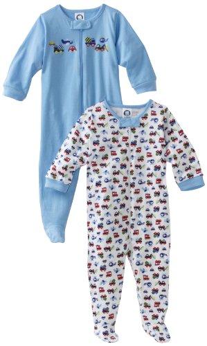 Gerber Baby Boys' 2-Pack Sleep 'N Play, Navy Blue, 0-3 Months
