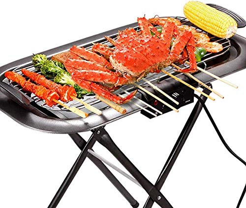 Yongqin Hot Pot Barbecue Grill Sin Humo Eléctrico Interior Antiadherente Al Aire...