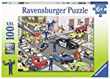 Ravensburger 10401 Police Patrol, 100 Piece Puzzle for Kids, Every Piece is Unique, Pieces Fit Together Perfectly