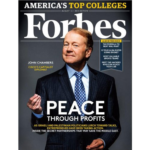 Forbes, July 29, 2013 cover art