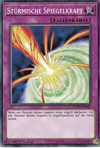 LEDD-DEB22 - Stürmische Spiegelkraft - Common - Yu-Gi-Oh - Deutsch 1. Auflage