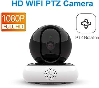 Cámara IP WiFi 1080p Mini Monitor Audio Smart CCTV Home Security Wireless Ptz Infrared Night Vision Surveillance HD Cámara con 16G