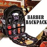 Portable Barber Sac à dos Outil de maquillage Sac à dos multifonctions Voyage Organisateur cosmétiques Boîte Sac étanche de stockage