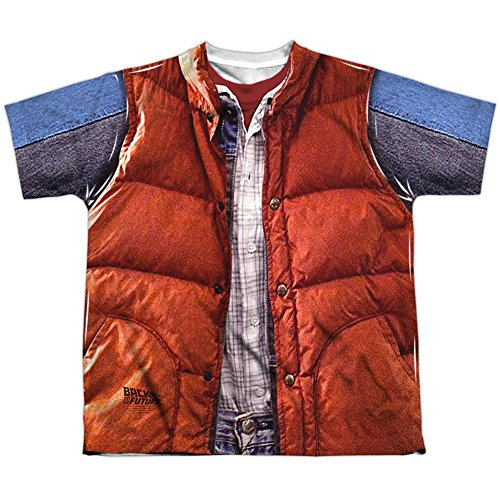 * Best Value * Child's Back To The Future Marty McFly T-shirt Vest Costume
