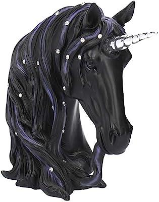 Nemesis Now Jewelled Midnight Small 15cm Figurine, Resin, Black, One Size