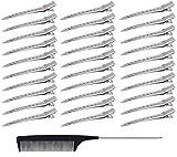 30 Stück 3,5 Zoll Entebill Haarspangen,Metallklemmen haarklemmen,Metall Alligator Curl...