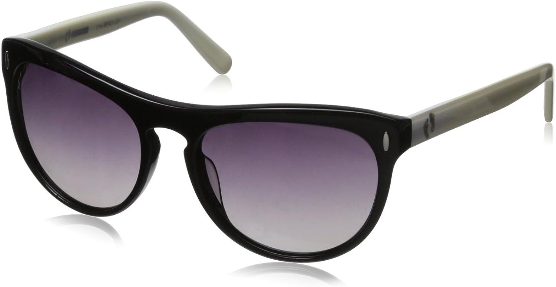 Hang Ten gold Classic Key Hole HRG1018 C3 Polarized Round Sunglasses