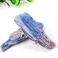 天然石 1個の天然アクアマリンクリスタルポイントの不規則な原結晶の岩石のサンプルエネルギー治癒の石の装飾品家の装飾 (Farbe : Aquamarine, Größe : 1pcs)