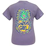 Girlie Girl Originals Sweet Southern Girl Violet Short Sleeve T-Shirt (Medium)