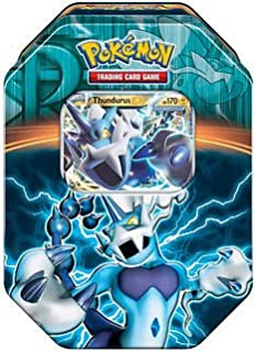 Tin Pokemon THUNDURUS EX Edizione Limitata in italiano Team Plasma
