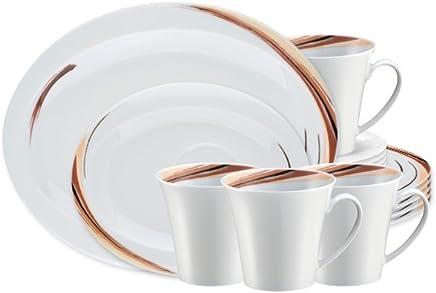 Preisvergleich für Seltmann Weiden Top Life Kaffeeservice 18-teilig Aruba