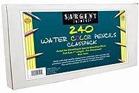 Sargent Art 240カウント水彩鉛筆クラスパック ベストバイアソート、22-7253