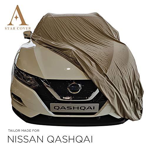 AUTOABDECKUNG GRAU PASSEND FÜR Nissan Qashqai WASSERDICHT AUSSEN VOLLGARAGE IM FREIEN Cover SCHUTZDECKE