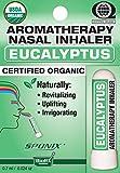 Nasal Inhaler Aromatherapy Eucalyptus Made with Organic Essential Oils 0.7 mL by Sponix