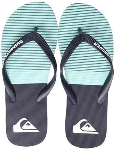 Quiksilver Molokai Tijuana, Zapatos de Playa y Piscina para Hombre, Azul (Blue/Blue/Green Xbbg), 40 EU