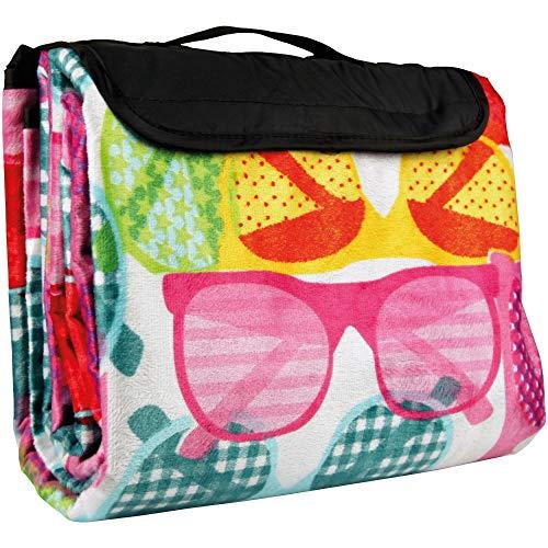 Bestlivings Picknickdecke mit Fotodruck - Sonnenbrillen - 300x200 cm (BxL), in vielen Variationen