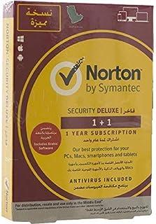 برنامج نورتون سيكيوريتي ديلوكس 3.0 اشتراك لمدة سنة واحدة، مستخدمين