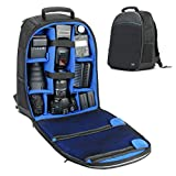 Digital SLR Front Loading Camera Backpack with Laptop Compartment by USA Gear