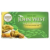 John West Smoked Oysters In Sunflower Oil 85g -